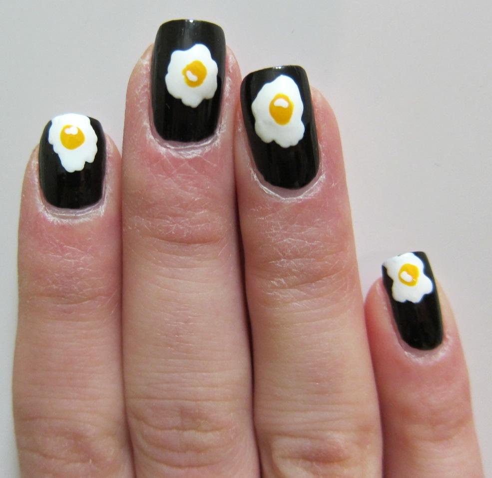 Egg Yolk Nail Art | Midrash Manicures