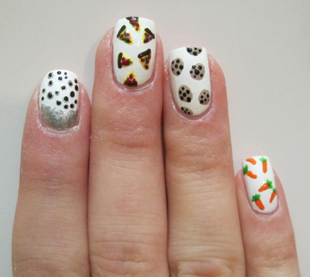 Manna Food Nail Art | Midrash Manicures
